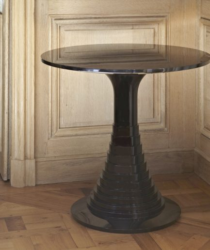 Lacquer Round Table