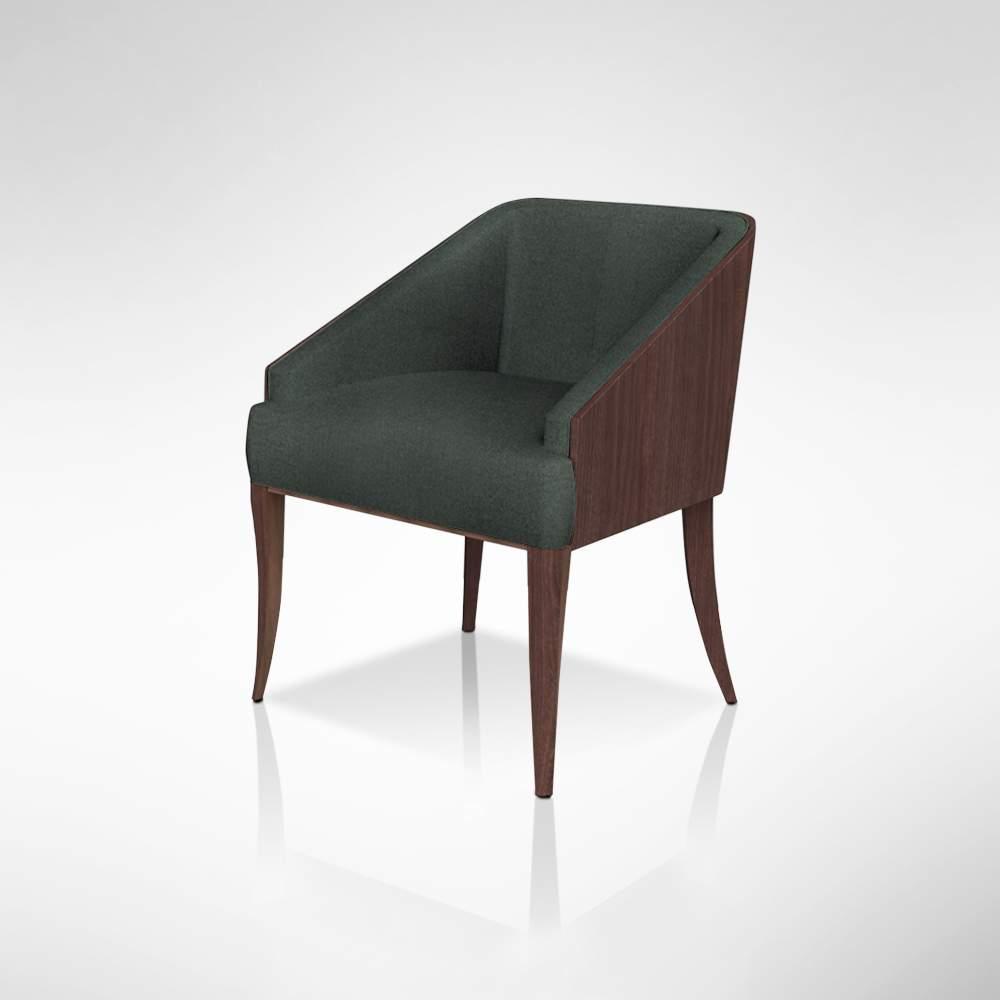 Alma Tadema Chair - Green Fabric