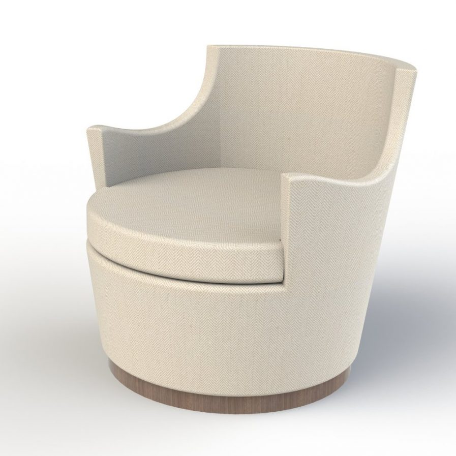 David Roberts Swivel Tub Chair