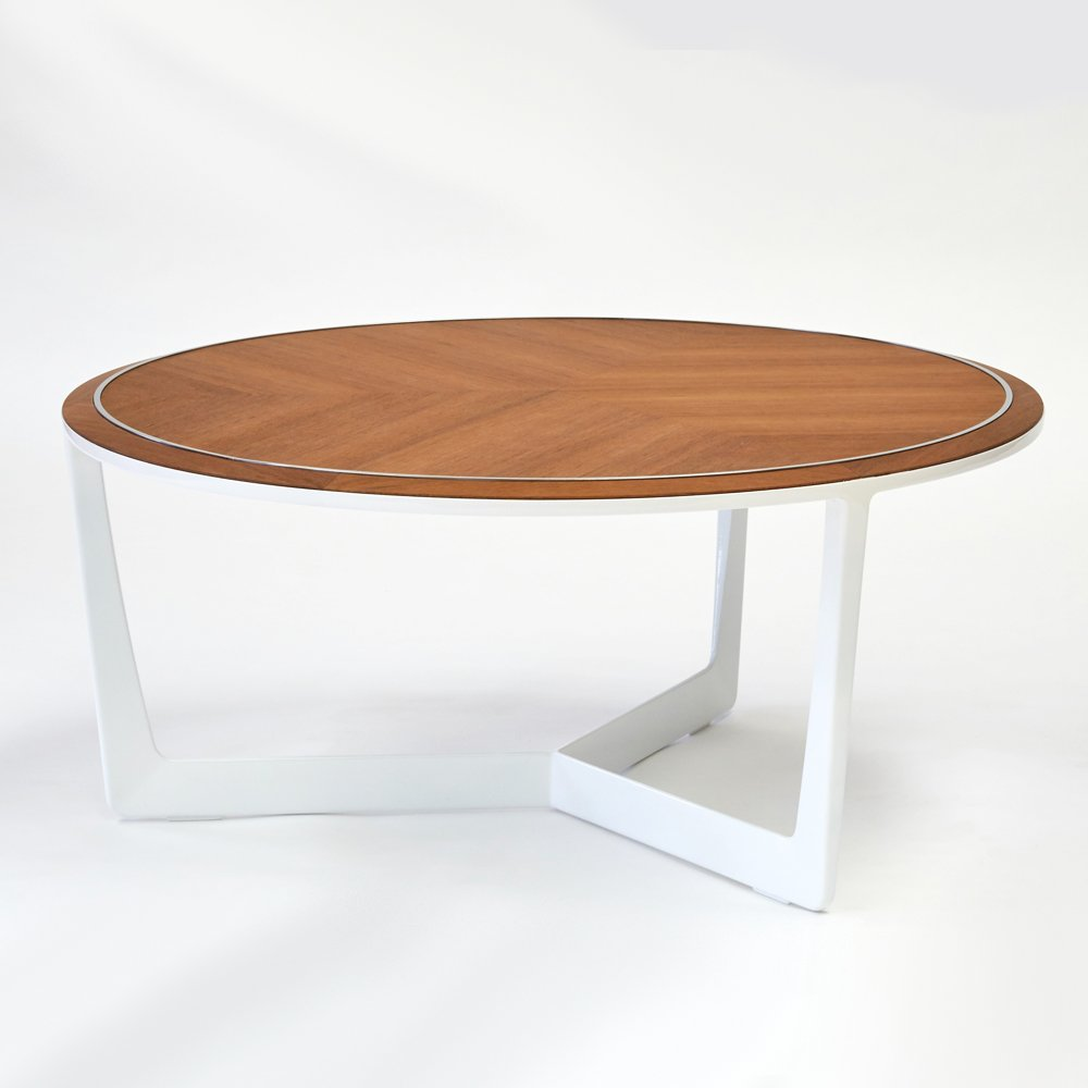 Round Low Coffee Table
