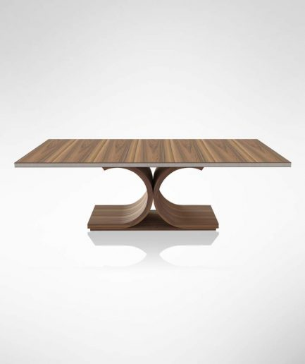 Rosewood Table Front