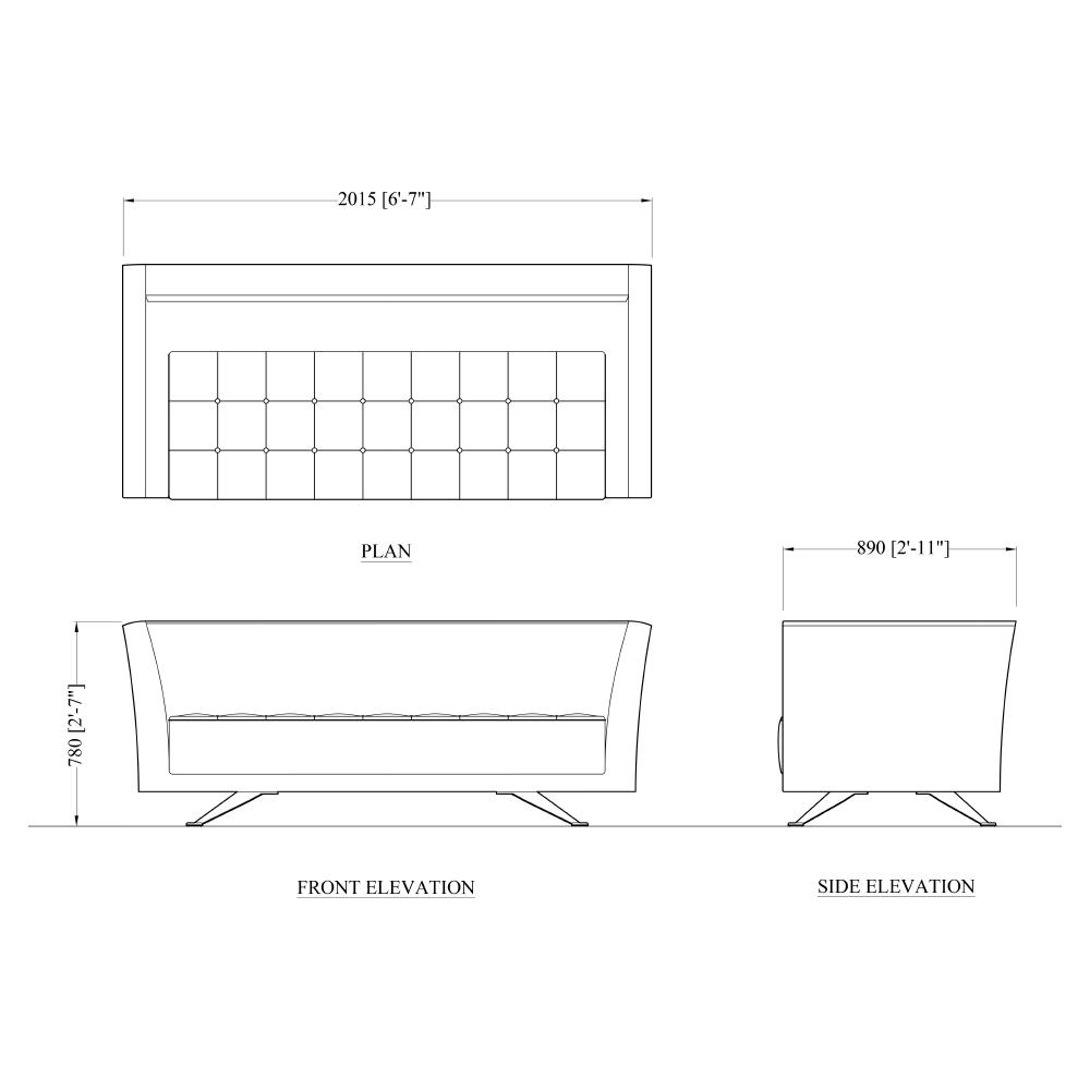 The John Nash Sofa