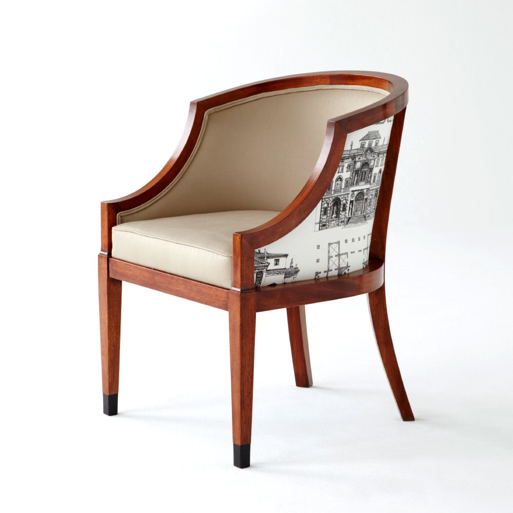 The Thomas Hope Club Chair