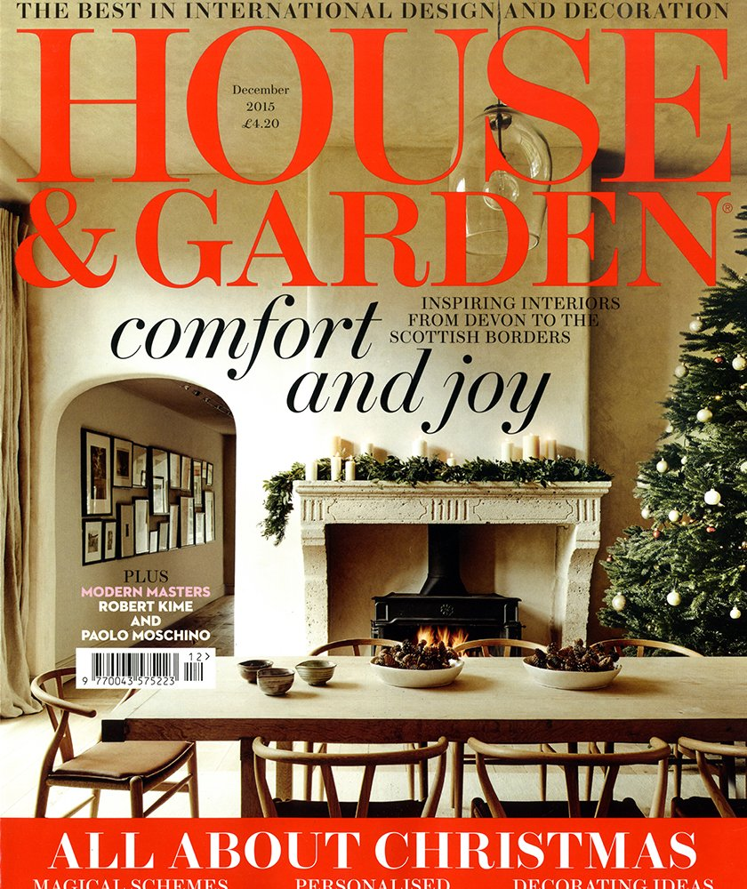 House & Garden Dec 2015
