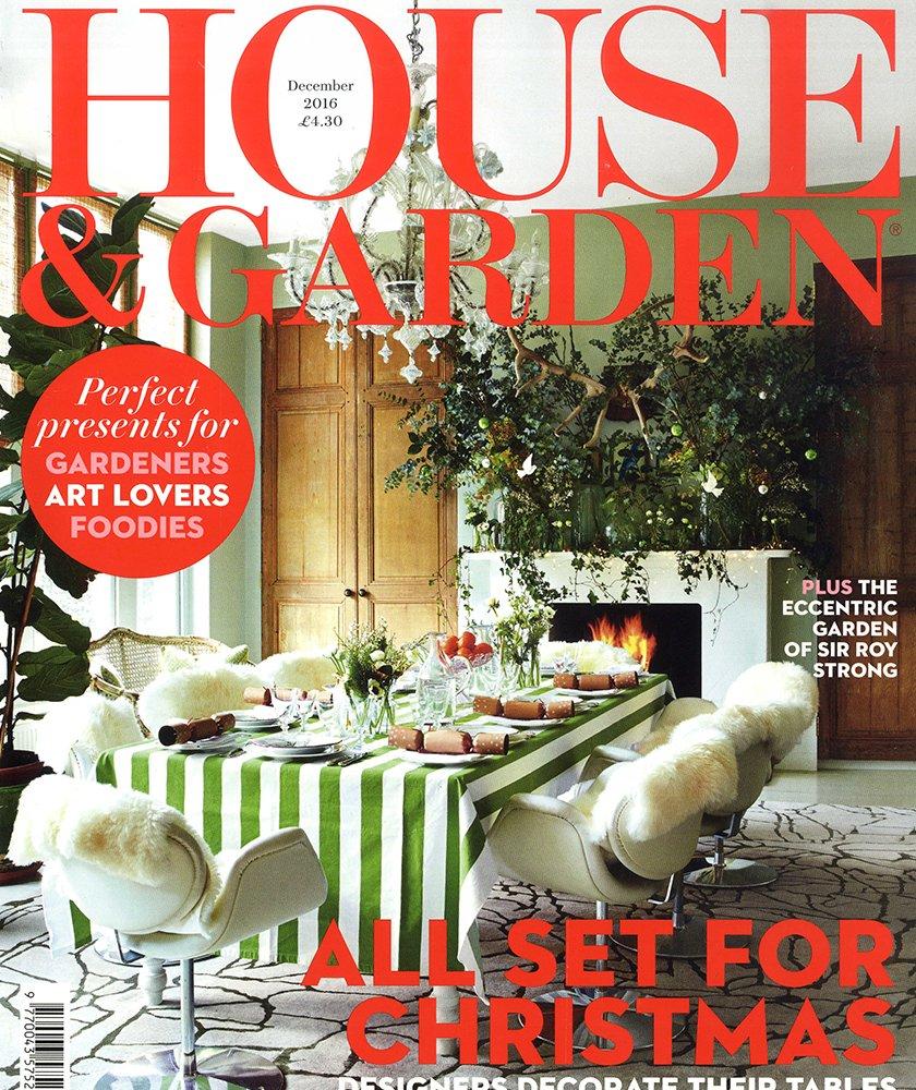 House & Garden Dec 2016