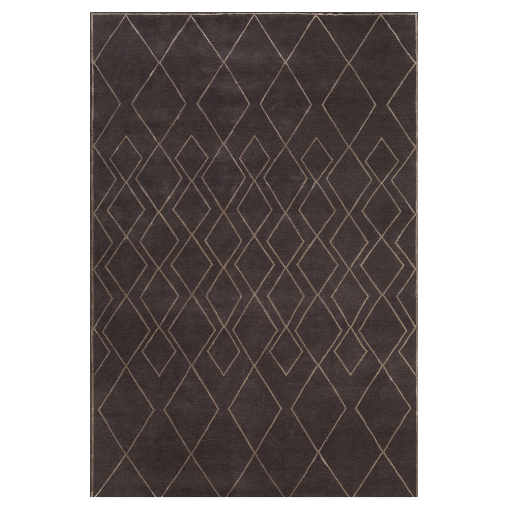 Rug Company Dark Diamond Interlock
