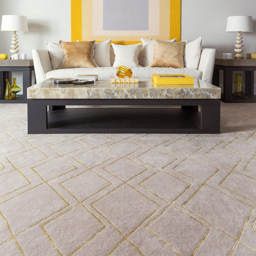 Rug Company Deco Diamond Lifestyle