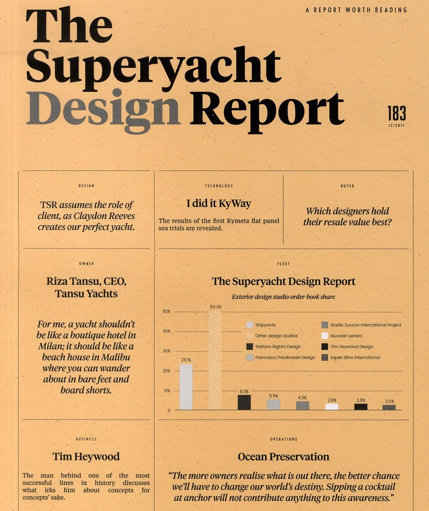 The Superyacht Design Report Dec 2017