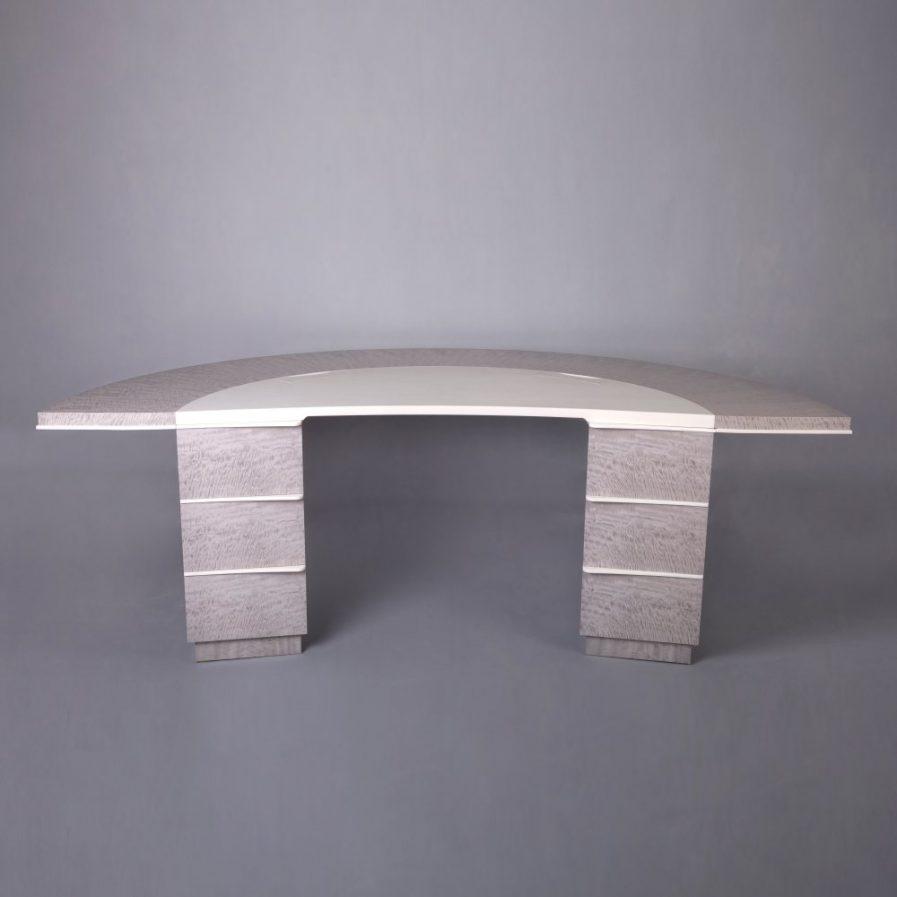 Grey Sycamore Desk