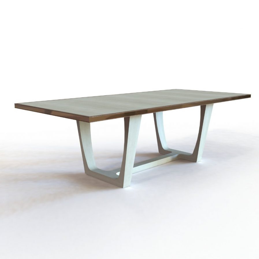 Grey Sycamore Dining Table