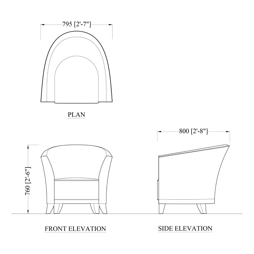 The John Nash Club Chair