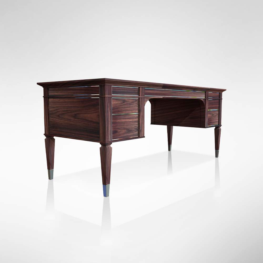 Rosewood Desk Back