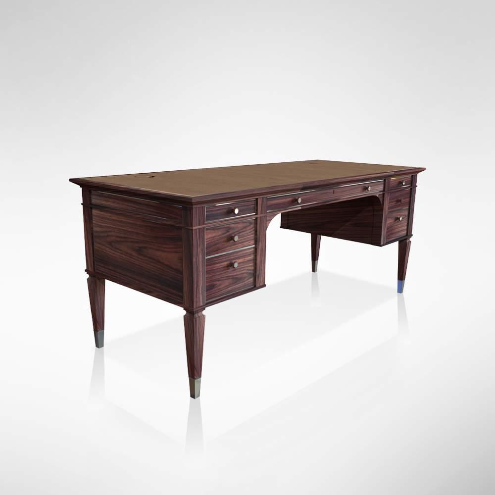 Rosewood Desk Front